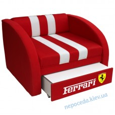 Крісло-ліжко Smart червона