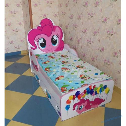 """Детская кровать """"Пони"""" с ящиками"""