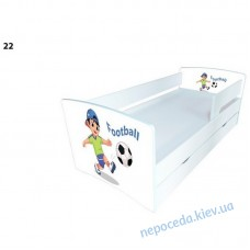 """Кровати для мальчика """"Футбол"""" с ящиком Kinder Cool"""