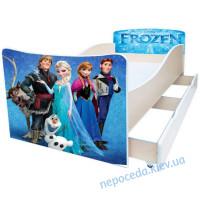 Дитяче ліжко в кімнату Холодне серце Kinder-Cool без ящика