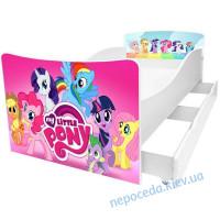 Дитяче ліжко для дівчинки My little pony Kinder-Cool без ящика