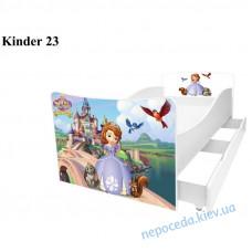 Дитяче ліжко Софія (Кіндер 23)