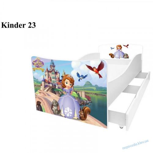 Детская кровать София (Киндер 23)