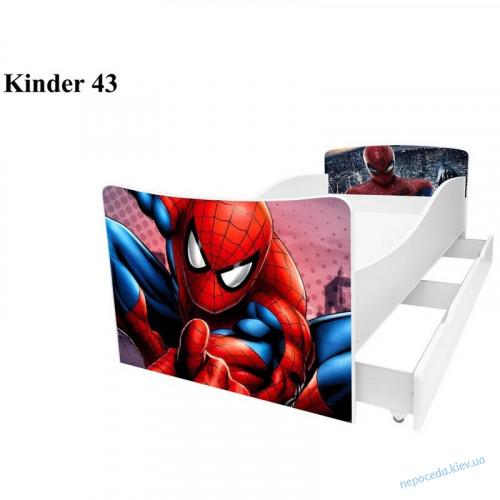 Детская кровать Спайдермэн (Киндер 43)
