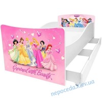 Дитяче ліжко Принцеси Kinder-Cool без ящика