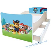 Дитяче ліжко Kinder-Cool Щенячий патруль без ящика
