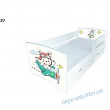 Детская кровать для мальчика с ящиком Kinder Cool