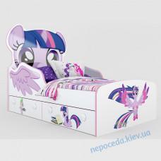 """Дитяче ліжко з ящиками """"Поні"""""""