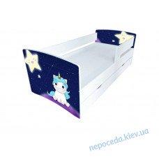 Детская кроватка Kinder-Cool Ночная Пони без ящика длина - 174 см