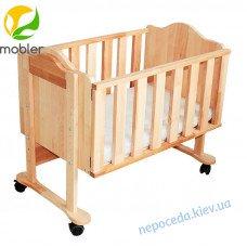 Приставная кроватка Mobler для новорожденных