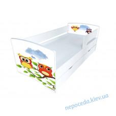Кровать детская Kinder-Cool без ящика Совушки 1700*800 мм