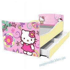 Одноярусная детская кровать Китти
