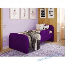 Односпальне ліжко Teddy фіолет дитяче
