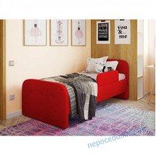 Дитяче односпальне ліжко Teddy червона