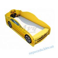 """Кровать """"Трансформеры"""" желтого цвета"""