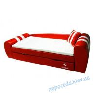 Кровать-диван GRAND Ferrari красный для детей и подростков
