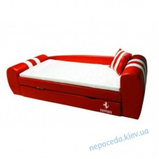 Ліжко-диван GRAND Ferrari червоний для дітей і підлітків