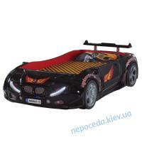 Детская кровать машина с подсветкой Forsag Premium