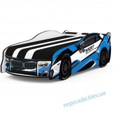 Кроватка в виде авто Space BMW SPORT синий