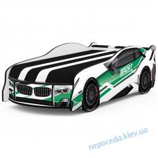 Кровать авто Space BMW SPORT зеленый