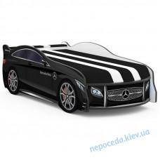 Детская кровать в виде авто SPACE Mercedes-BENZ черная