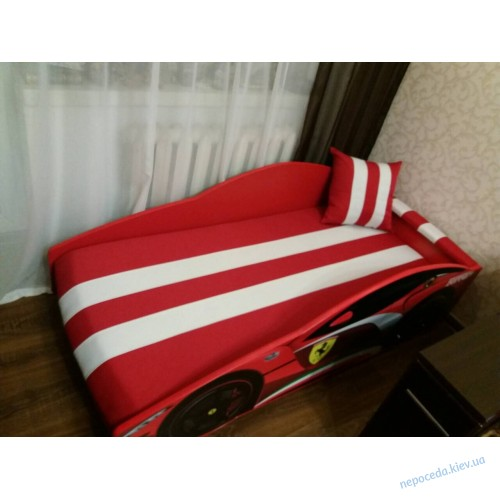 """Кровать машина Элит с матрасом """"Феррари"""" для мальчика"""