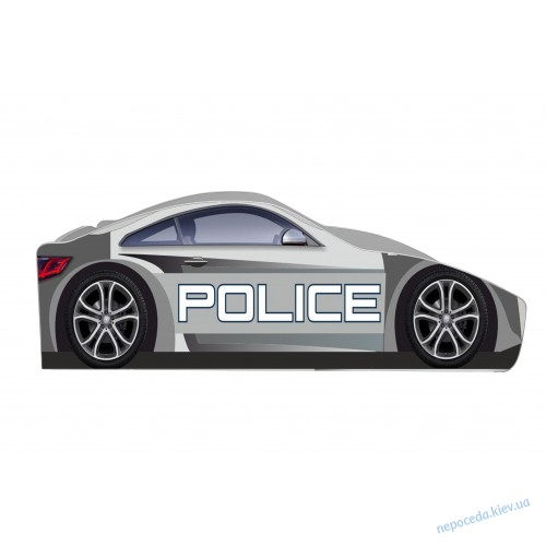 Policie кровать машинка 150см