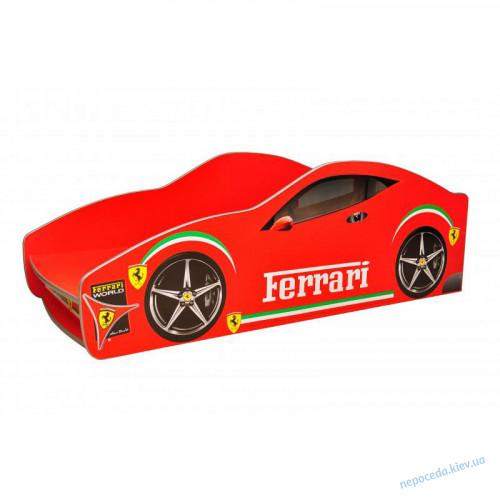 Недорогая Детская кровать-машина Феррари 160*80см