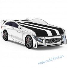 Кроватка машинка SPACE Mercedes-BENZ белая