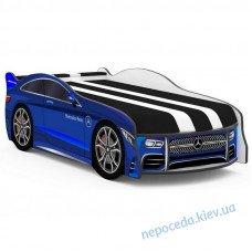 Детская кровать SPACE Mercedes-BENZ синяя