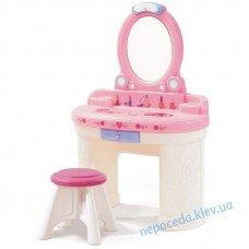 Туалетный столик для девочек Маленькая Барби 104х71х36см