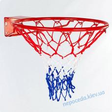 Баскетбольне кільце 45см з сіткою