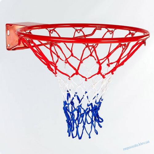 Баскетбольное кольцо 45см с сеткой