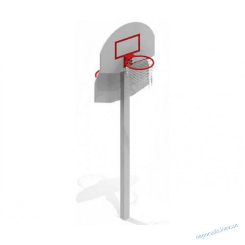 Баскетбольная стойка с кольцом для игры на улице для детей