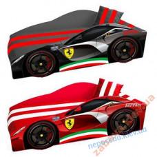 Кровать-машина Ferrari Элит 70x150 мягкая