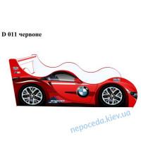 Кровать машина для девочки BMW-детская Драйв (красная) 80*160 см