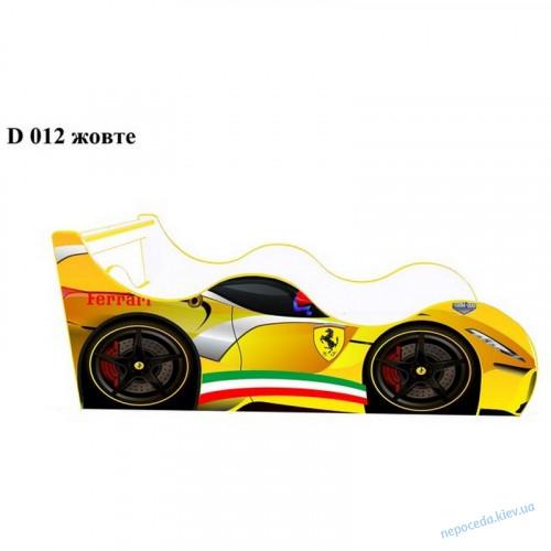 Кровать машинка Ferrari yel80*170см Драйв