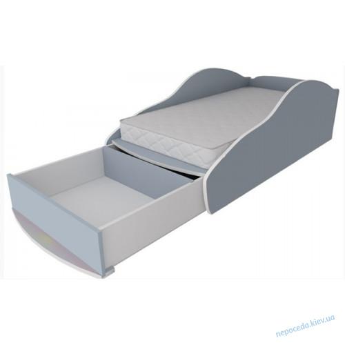 Ящик выдвижной к кровати машинке из ДСП