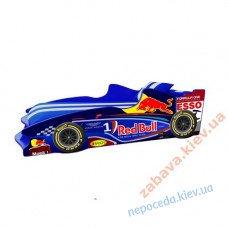 Кровать машина Формула 1 Синий