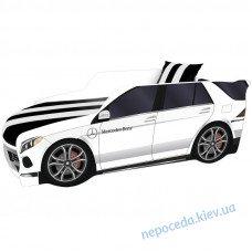 Кровать машина Мерседес (MERCEDES Premium) белая 180*80см