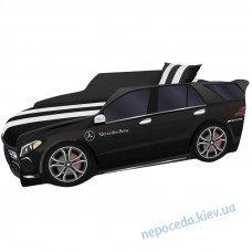 Кроватка машинка серии Премиум черная