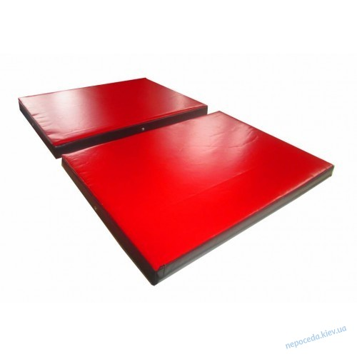 Мат складной ПВХ 150х100х8 см с 2-х частей