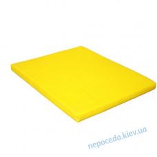 Мат детский 80*100*8см красно-жёлтый