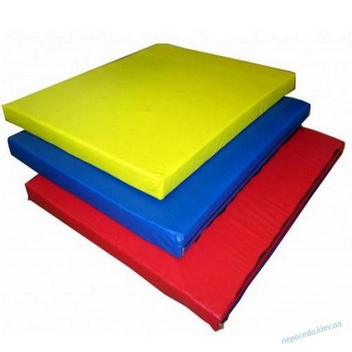 Складной детский мат 3м х1м толщина 10 см с 3-х частей