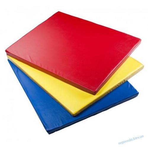 Детский мат спортивный (80*120см*8) разные цвета