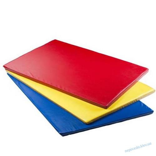 Детский спортивный мат 150см (красный, желтый, синий, оранжевый)