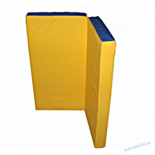 """Мат гимнастический 160 * 100 см (два по 80*100см) """"Книжка"""""""