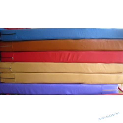 Мат гимнастический 1х1 метр, 10 см толщиной Радуга