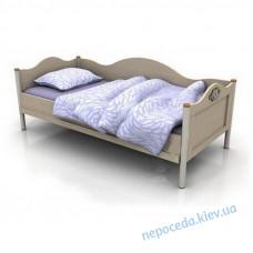 Кровать со спинкой для девочки Angel