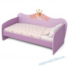 Ліжко для дівчинки зі спинкою Cinderella